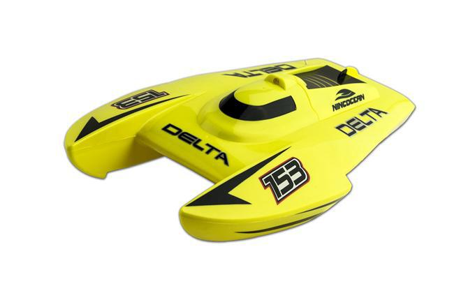 NINCOCEAN DELTA YELLOW RC SPEED CAT