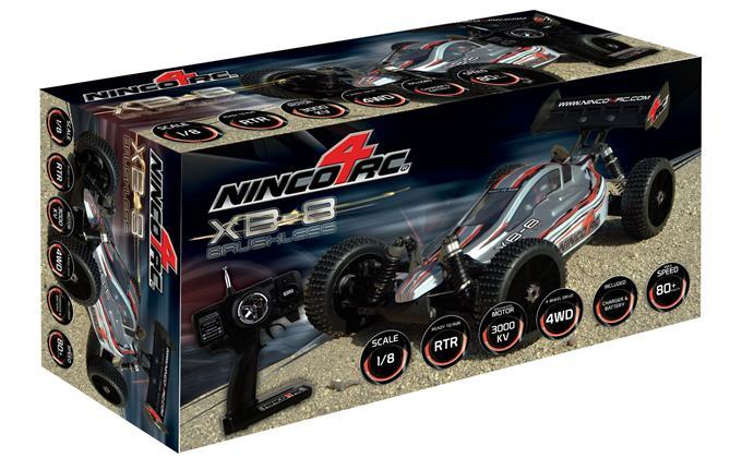 1/8 BUGGY BRUSHLESS XB8 RTR
