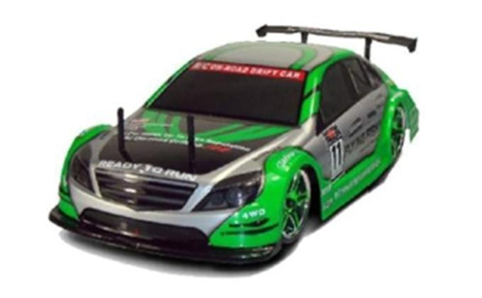 CARROCERIA PINTADA 1/10 MERCEDES DTM 190MM