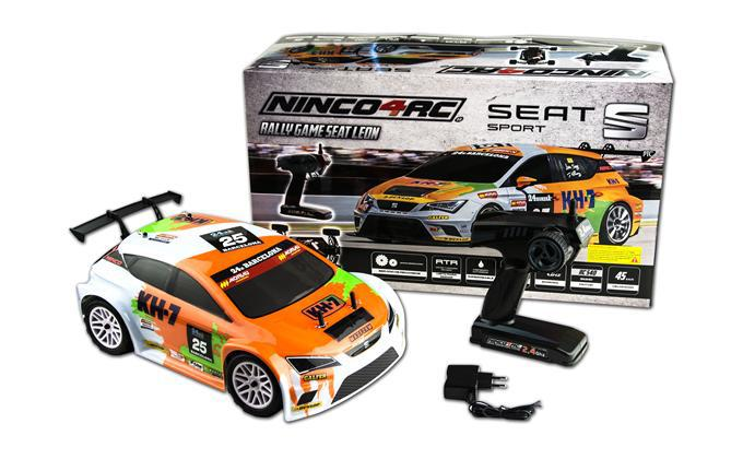 1/10 RALLY GAME SEAT LEON KH7