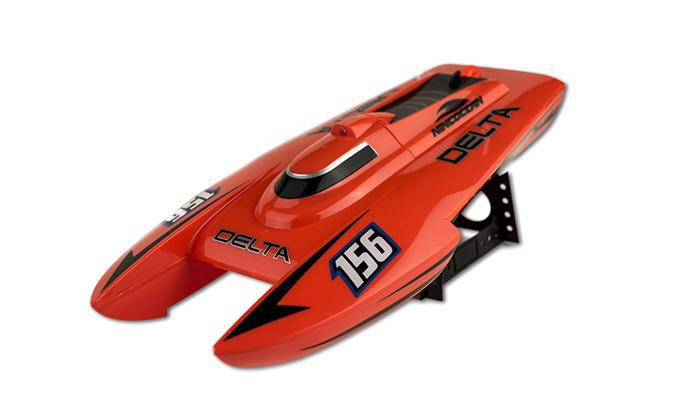 NINCOCEAN DELTA ORANGE RC SPEED CAT