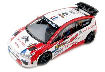 CITROEN C4 WRC -TOTAL- LIGHTNING ninco, slot, radio control