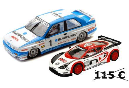 PACK BMW M3 E30 RALLY CATALUNYA 2011 + ASCARI CLUB ninco, slot, radio control