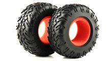 TIRE W/FOAM 2P (XTREM CRAWLER)