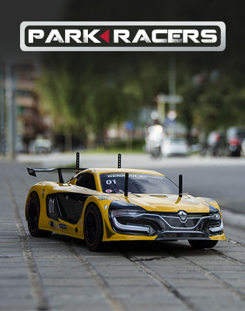 PARK RACERS ninco, slot, radio control