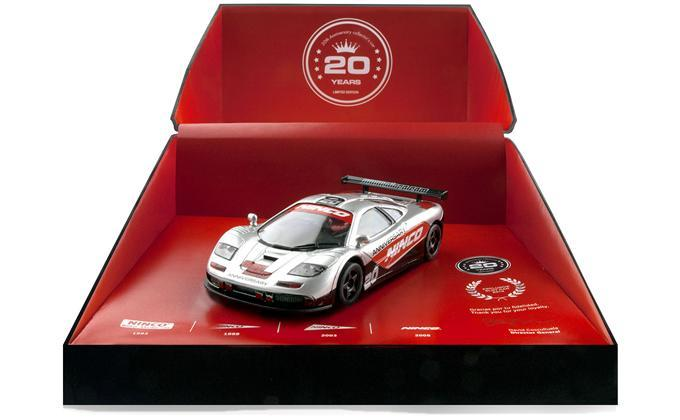Ninco Fête ses 20 ans avec un coffret McLaren F1 GTR