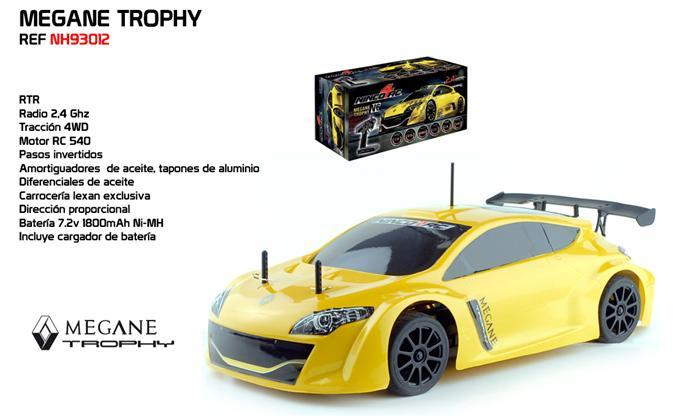 1 10 Megane Trophy 2 4g Rtr Ninco Slot Radio Control