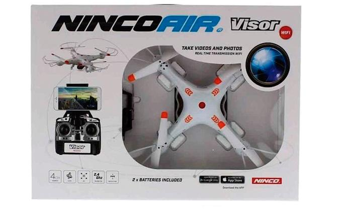 NINCOAIR QUADRONE VISOR WIFI HA (2 BAT)