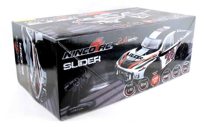 1/10 SLIDER SC-10 BRUSHLESS 2.4G