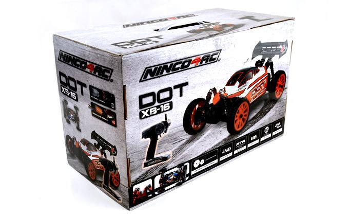 1/16 DOT BUGGY XB16 BRUSHLESS 2.4G RTR