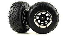 PRE-MOUNTED TIRE SET 2P (XTREM CRAWLER)