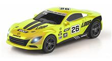 SLOT CAR YELLOW 1/43