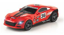 SLOT CAR RED 1/43